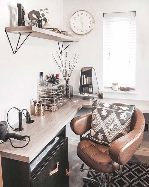 Trendy Vanity Table with Everything You Need