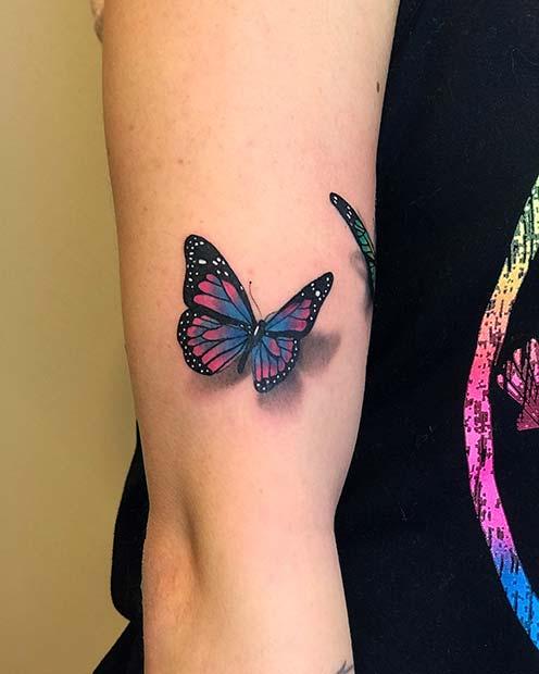 Vibrant Butterfly Design