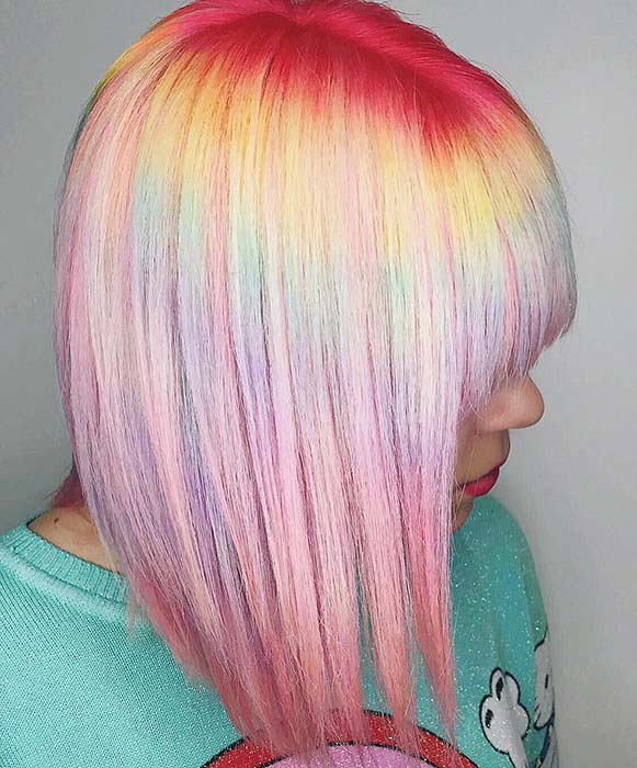 Vibrant Roots and Pastel Colors