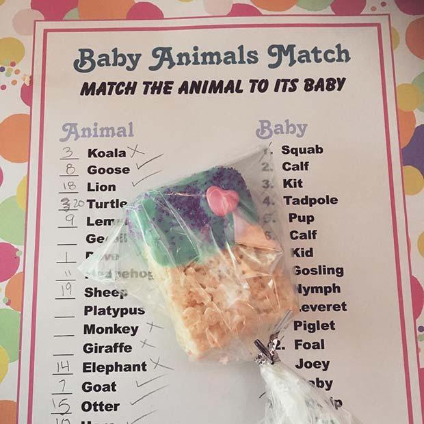 Baby Animals Match