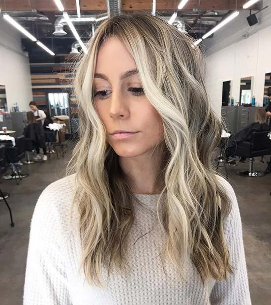 Beachy Blonde Hairstyle