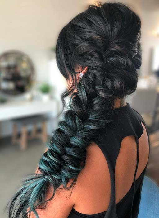 Beautiful Fishtail Braid