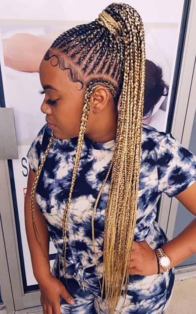 63 Badass Tribal Braids Hairstyles To Try Page 4 Of 6