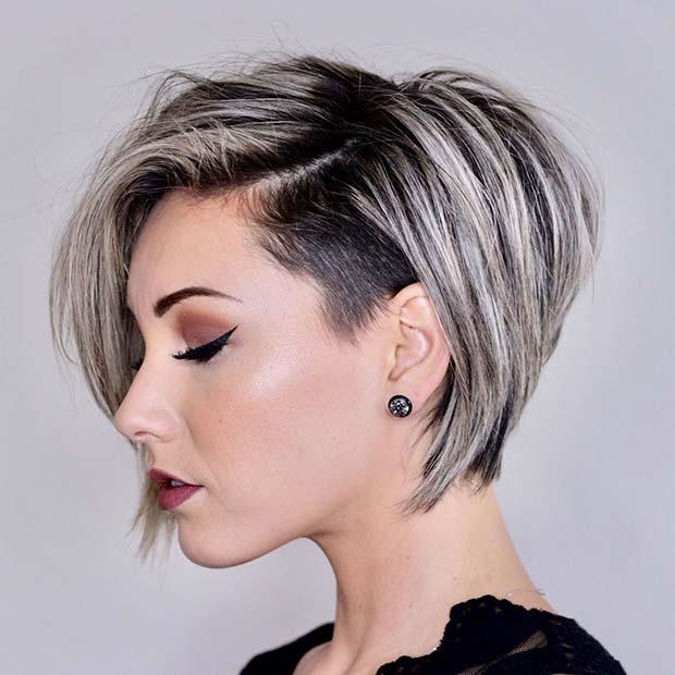 Blonde Highlights for Short Hair