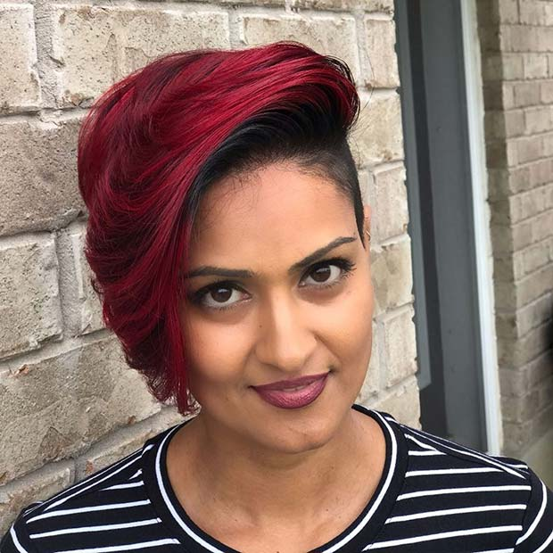 Bold Red Hair Idea