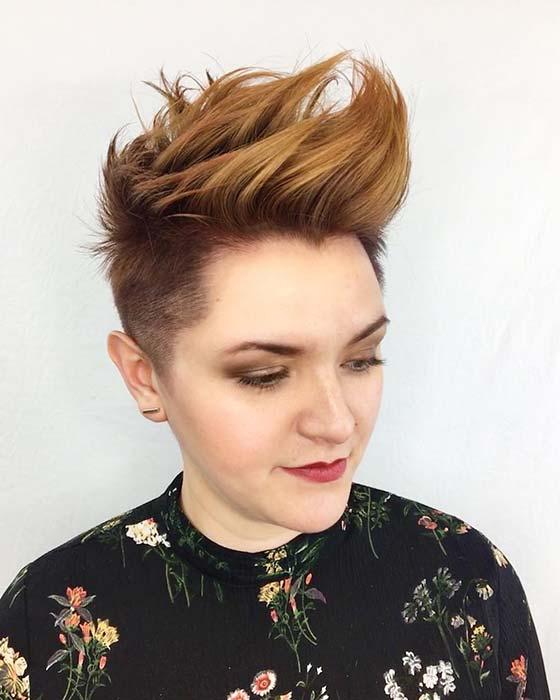 Bold Short Hair