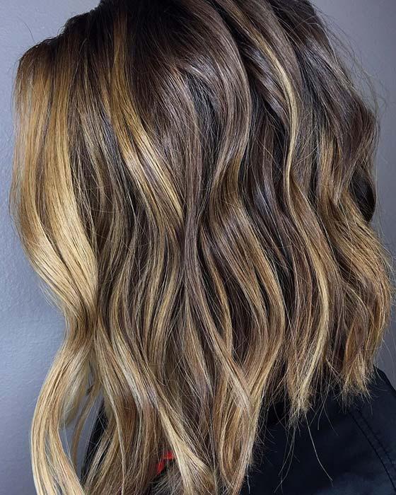 Low-Key Blonde Highlights