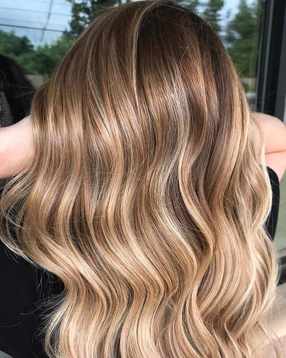 Multi Tone Blonde Hair Idea