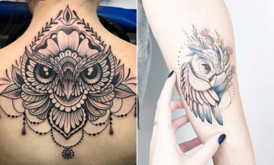 Owl Tattoo Ideas for Women