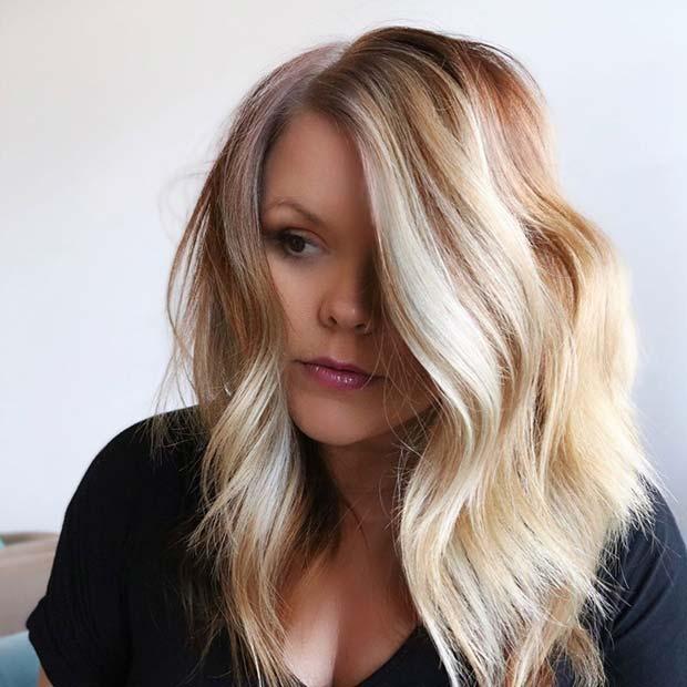 Platinum Blonde Hair Idea