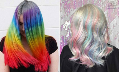 Rainbow Hair Ideas