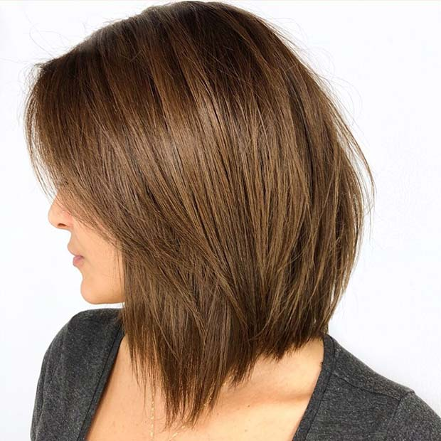 Simple and Stylish Layered Hair
