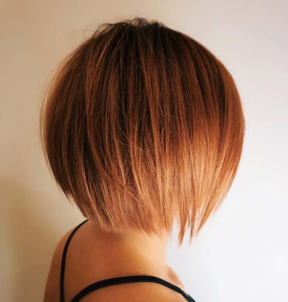 Sleek Short Bob Hairstyle