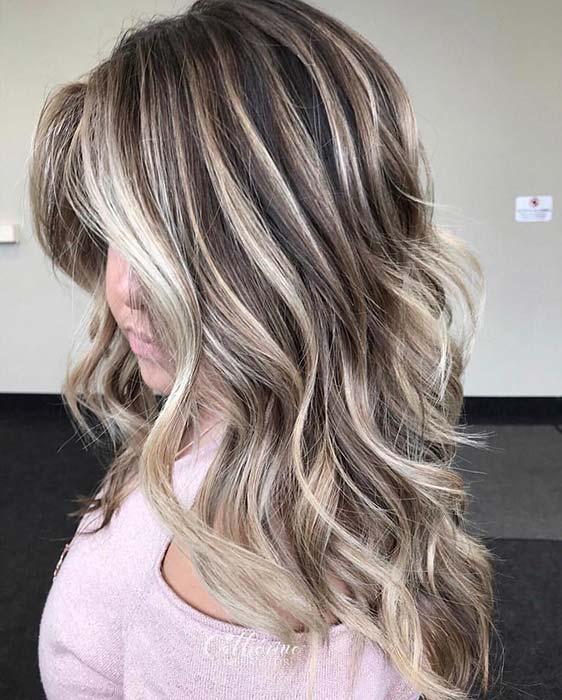 Soft Blonde Highlights