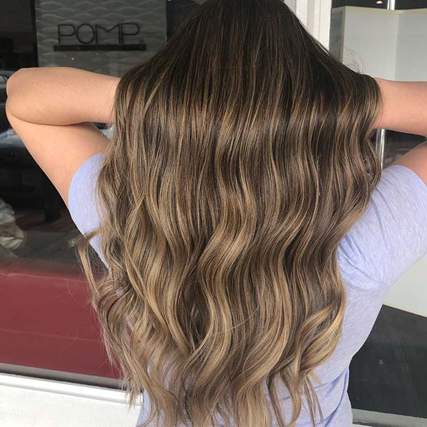 Soft and Subtle Blonde Highlights
