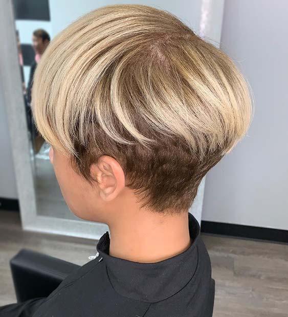 Stylish Blonde Hairstyle