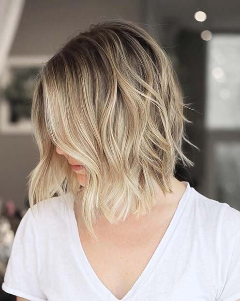 Stylish Short Cut and Color Idea