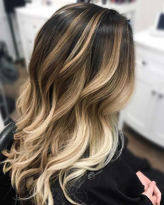 Summery Blonde Hair Color Idea