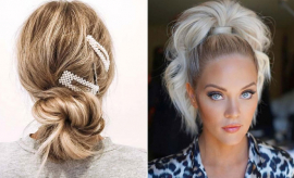 Super Easy Updos for Busy Women