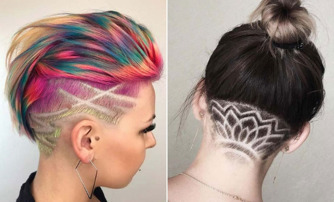21 Cool Undercut Designs For Bad Women Stayglam