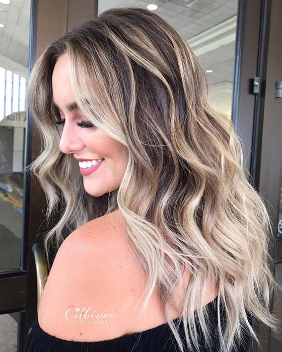 Warm and Cool Blonde Hair Idea