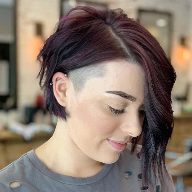 43 Bold and Beautiful Undercut Bob Haircuts