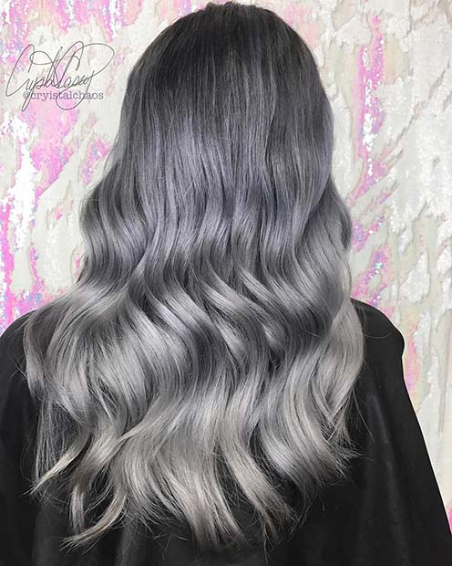 Black to Grey Hair