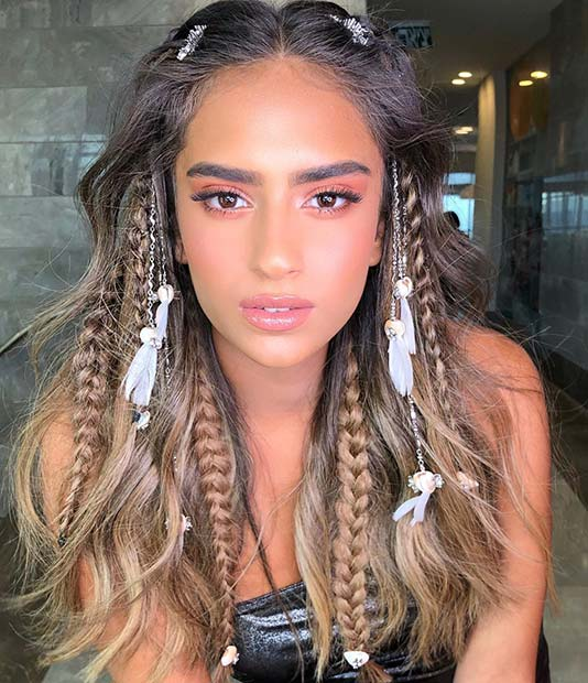 41 Cute Braided Hairstyles for Summer 2019 | Page 3 of 4 | StayGlam
