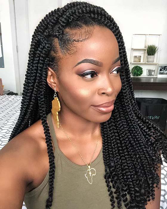 25 Trendy Goddess Box Braids Hairstyles Page 2 Of 2