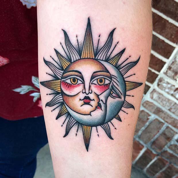 Colorful Tattoo Idea