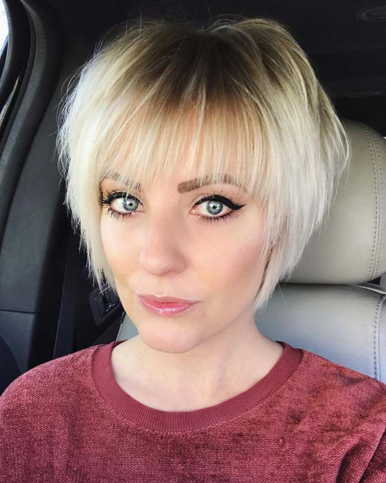 Cute Short Blonde Hair Idea