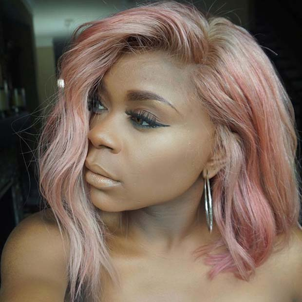 Rose Gold Hair Idea