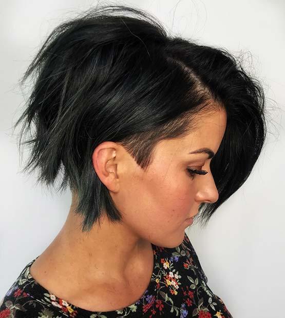 Edgy Short Haircut