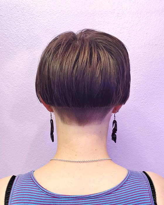 Edgy Short Bob Haircut Idea