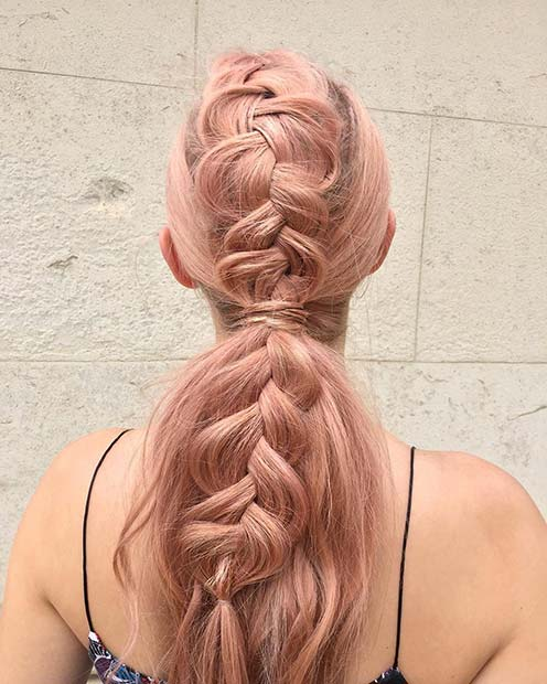 Ponytail and a Braid