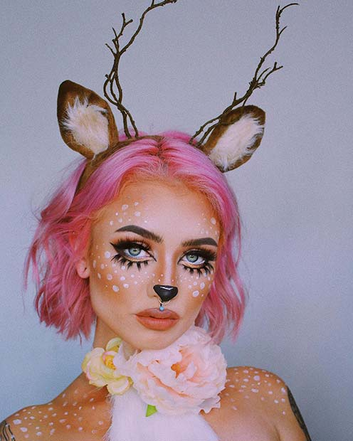 Pretty Deer Costume Idea