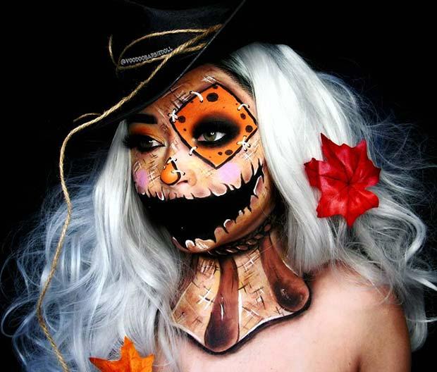 Scarecrow Illusion Makeup