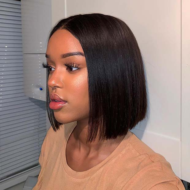 Stylish Short Weave Hairstyle