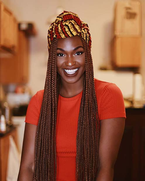 70 Box Braids Hairstyles That Turn Heads Page 7 Of 7