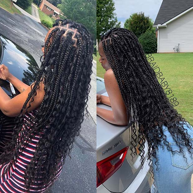 Stylish and Easy to Wear Braids