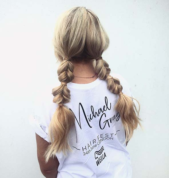 Trendy Braided Pigtails
