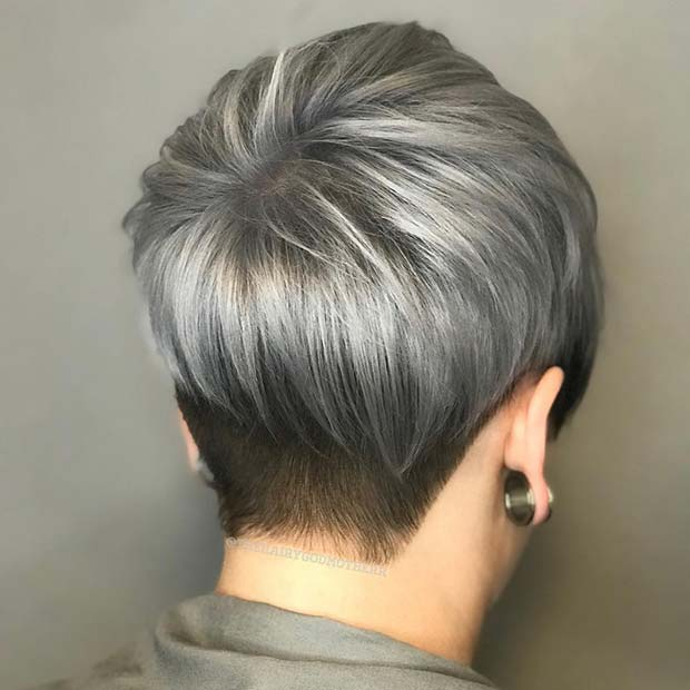 41 Stunning Grey Hair Color Ideas And Styles Page 3 Of 4 Stayglam