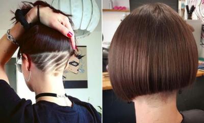 Undercut Bob Haircuts