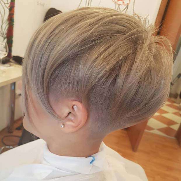 Undercut for Short Fine Hair