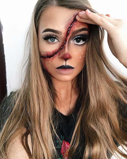 Halloween Makeup Ideas 2019 Scary.25 Deer Makeup Ideas For Halloween 2019 Stayglam