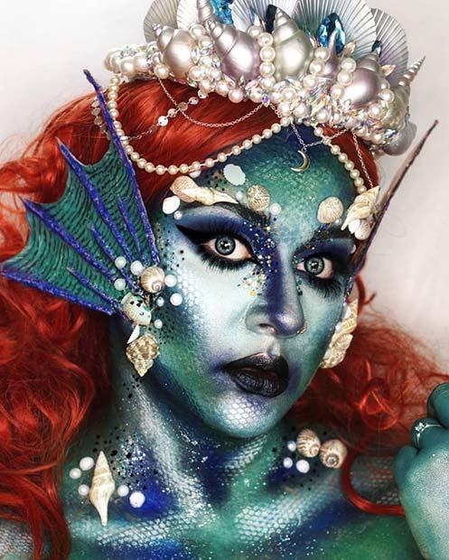 Stunning Mermaid Costume Idea