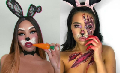 Bunny Makeup Ideas for Halloween
