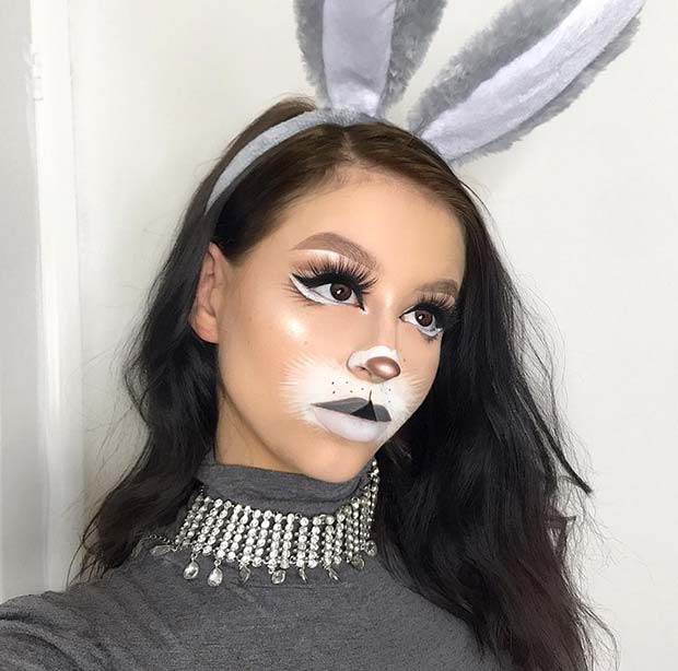 Chic and Cute Bunny