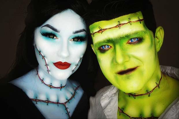 Couples Frankenstein Costume