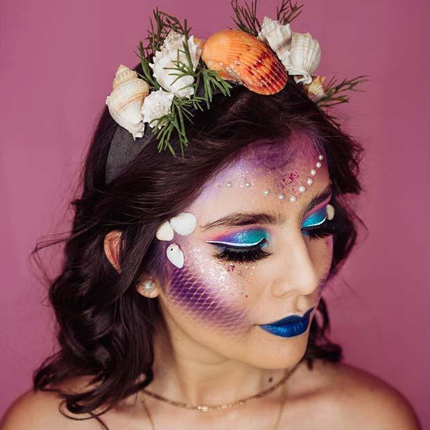 Cute Mermaid Lookfor Halloween